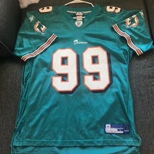 Jason Taylor Miami Dolphins Jersey Adult Large.